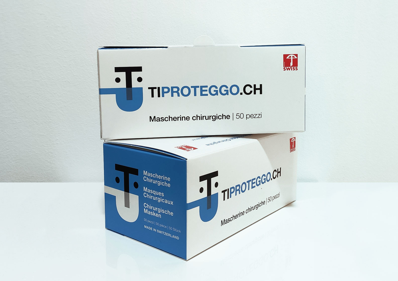 Brand identity TiProteggo - packaging